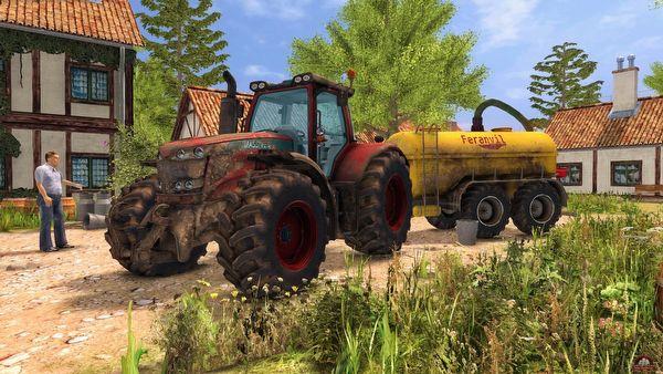 Symulator jazdy ciągnikiem rolniczym. Ciekawy i zajmujący